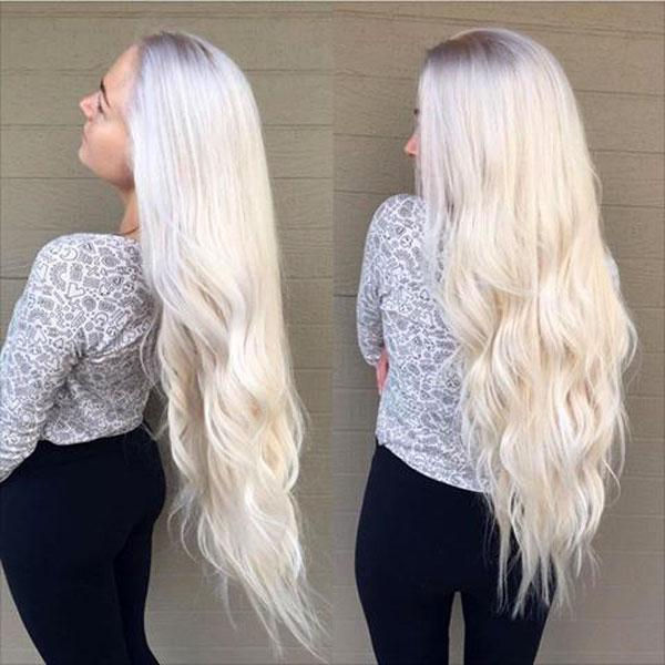 رنگ مو سفید