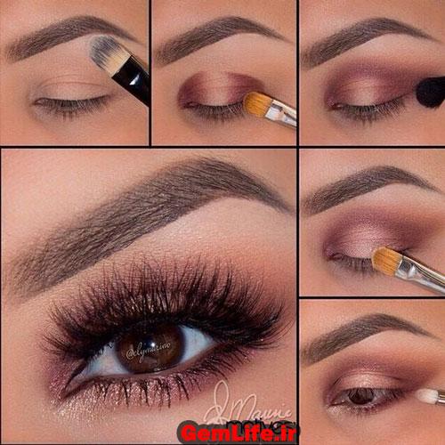 آموزش آرایش چشم دخترانه
