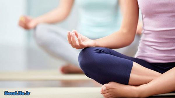 درمان سریع میگرن با یوگا