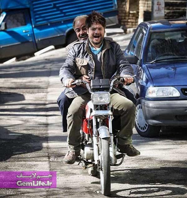 علی صادقی و سعید آقاخانی در سریال نون خ