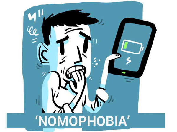 علایم نوموفوبیا , درمان نوموفوبیا